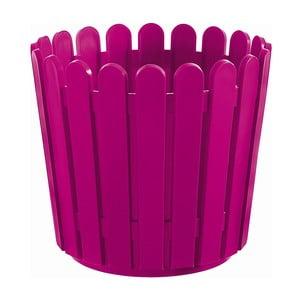 Květináč Round Planter Pink, 30x27 cm
