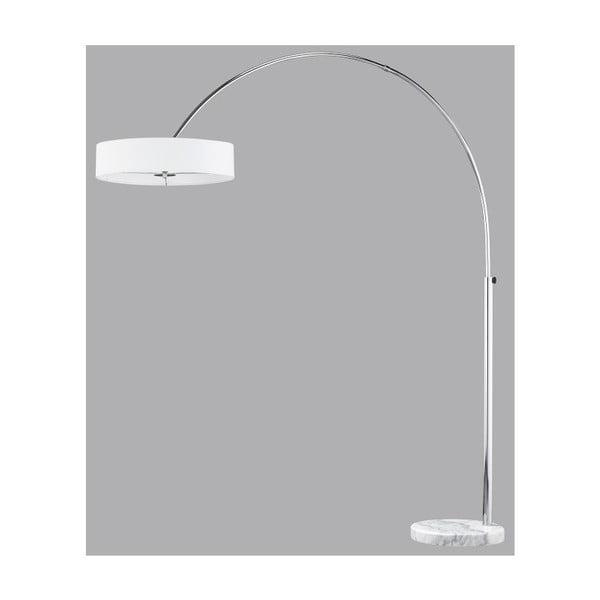 Stojací lampa Trio Serie 205 cm, bílá