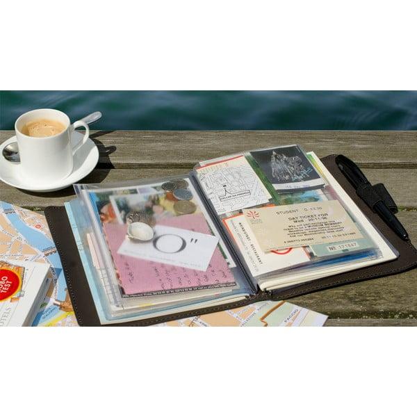 Cestovatelský deník na zážitky a suvenýry Trip Book Scoop