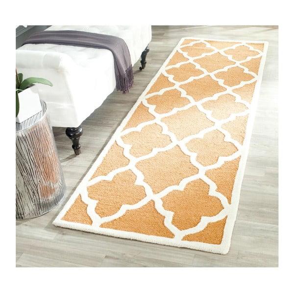 Ručně vyšívaný koberec Safavieh Noelle, 91 x 152 cm