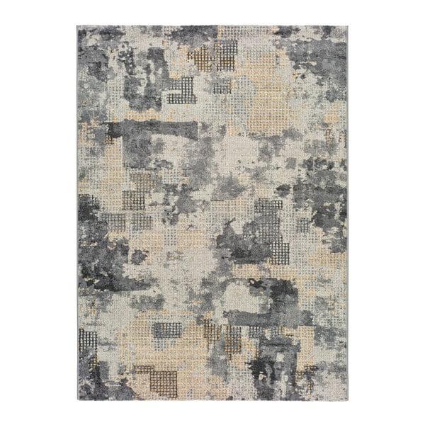 Adra Manelo szürke, kültérre is alkalmas szőnyeg, 57 x 110 cm - Universal
