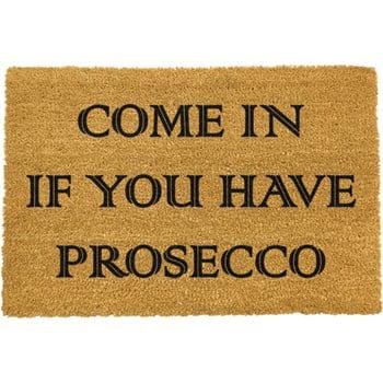Covoraș intrare din fibre de cocos Artsy Doormats Prosecco, 40 x 60 cm imagine