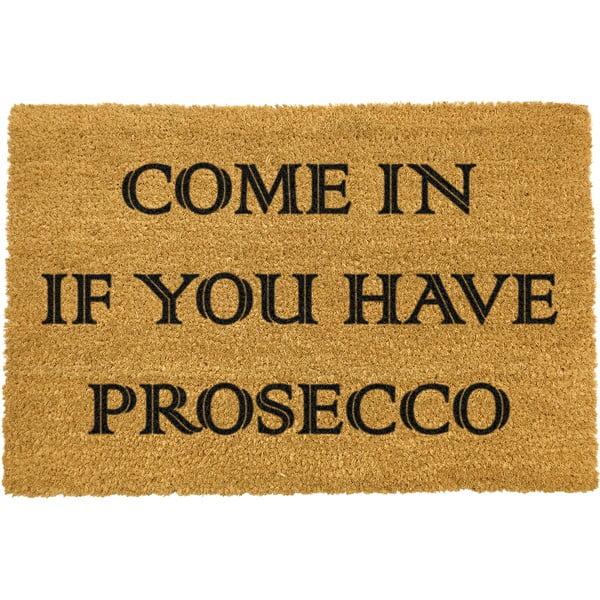 Covoraș intrare din fibre de cocos Artsy Doormats Prosecco, 40 x 60 cm