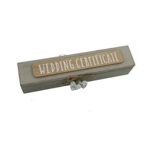 Pouzdro na svatební certifikát Celebrations Jenny
