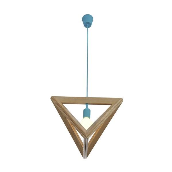 Závěsné světlo Triangle Blue