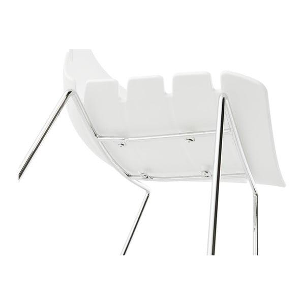 Bílá barová židle Kokoon Reny, výškasedu77cm