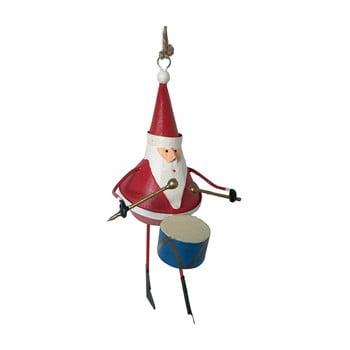 Decorațiune suspendată pentru Crăciun G-Bork Santa with Drum imagine