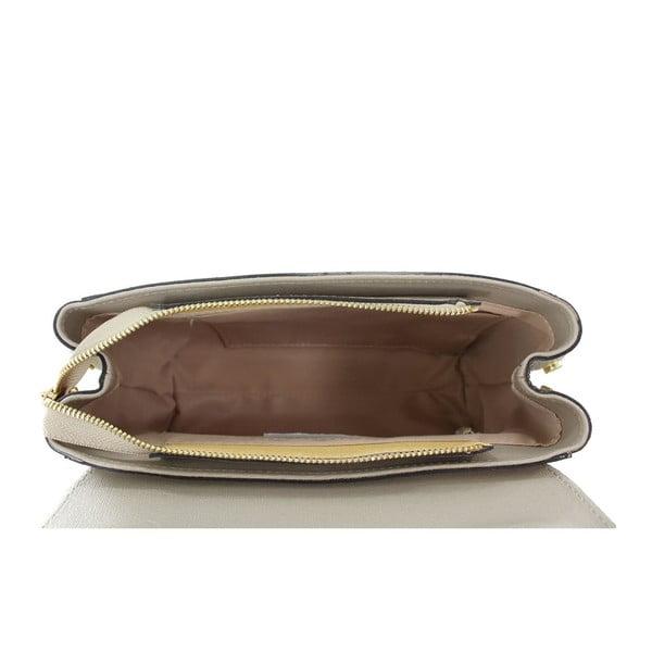 Taupe kožená kabelka Maria