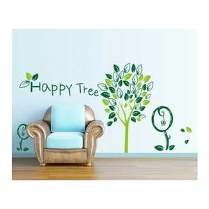 Samolepka na stěnu Happy Tree, 60x90 cm