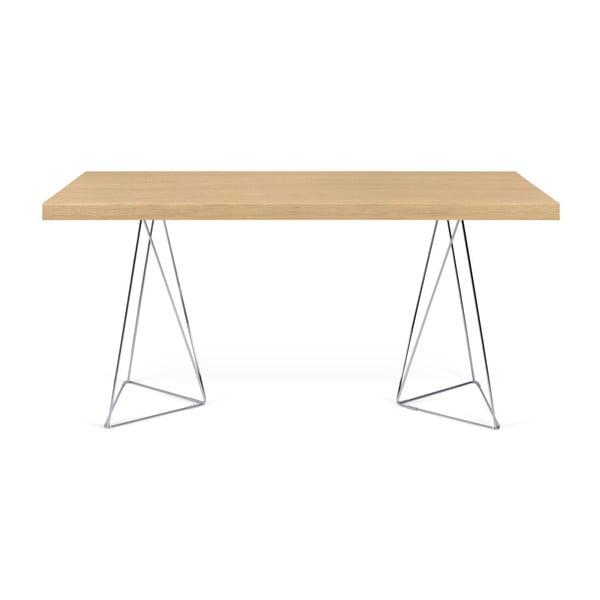 Světle hnědý stůl TemaHome Multi, délka 180 cm