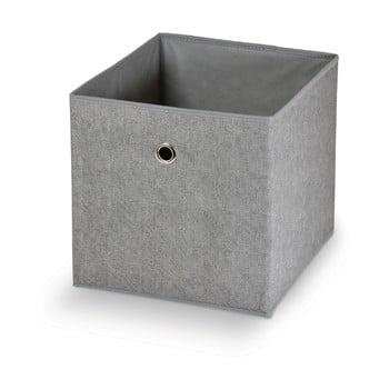 Cutie pentru depozitare Domopak Stone,32x32cm, gri