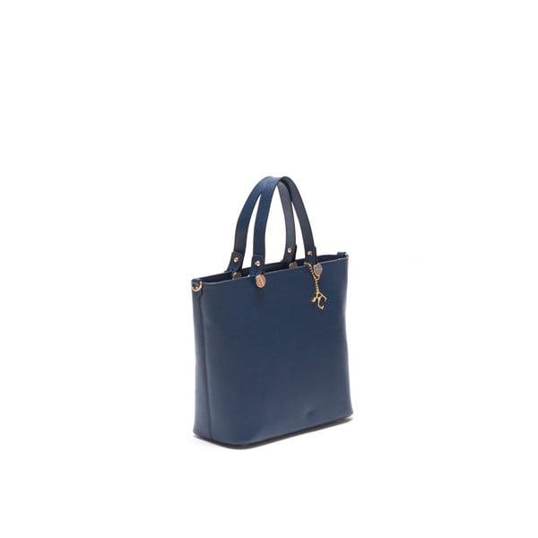 Kožená kabelka Damien 432 Blu