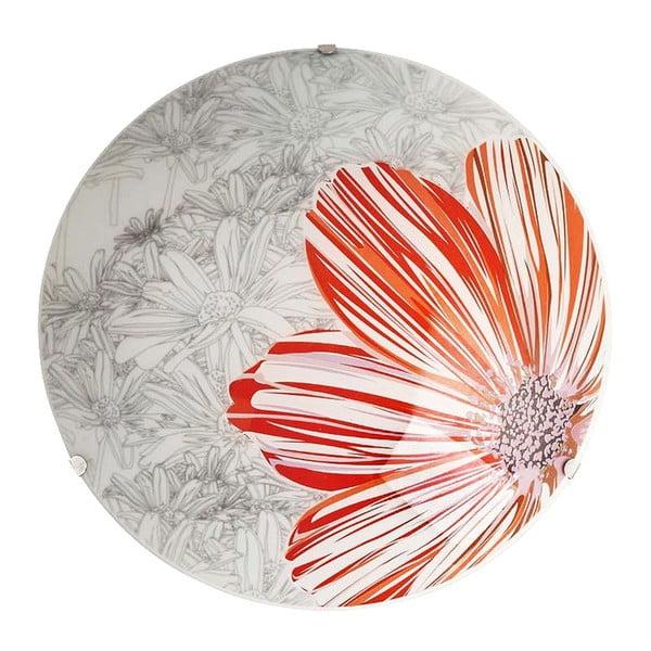 Nástěnné světlo Red Spring Round, 40 cm