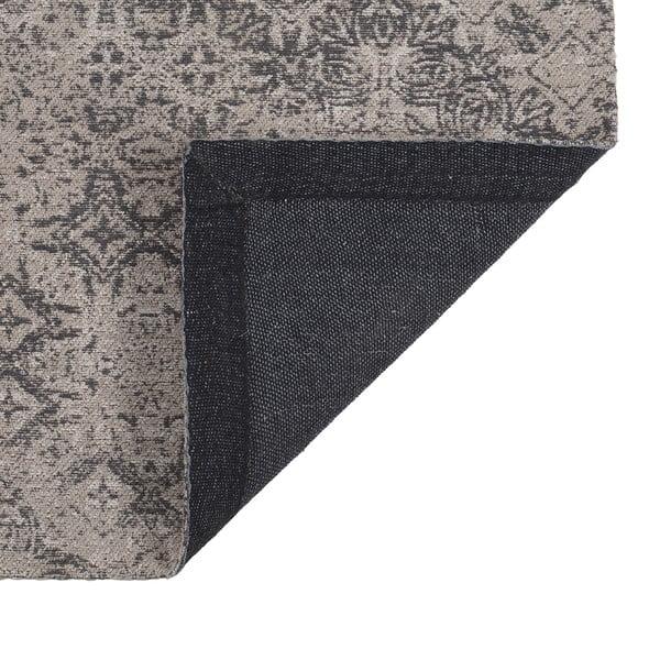Koberec Chenille, 120x180 cm, šedý