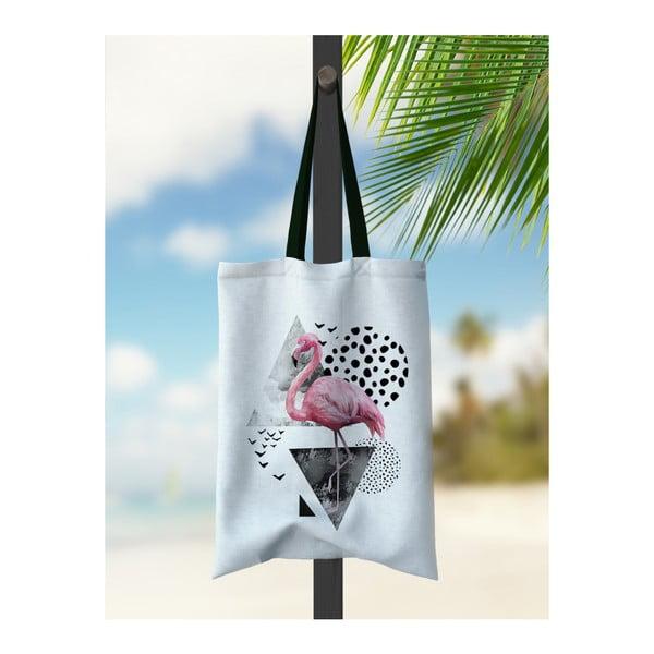 Geantă de plajă Kate Louise Flamingo