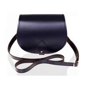 Kožená kabelka Saddle 29 cm, tmavě modrá
