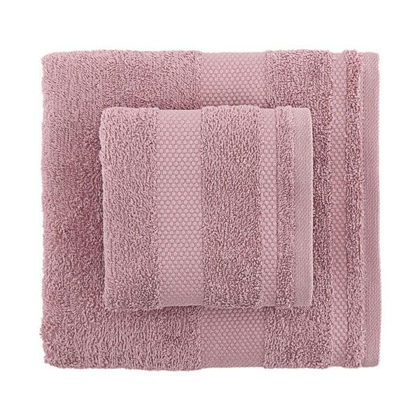 Sada 2 fialových ručníků Clio