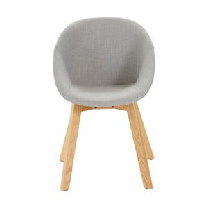 Šedá židle Støraa Baxter