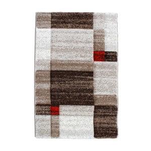Hnědý koberec Tomasucci Chess, 140x190cm