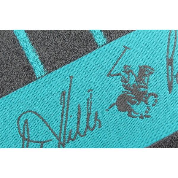 Bavlněná osuška BHPC 80x150 cm, tyrkysovo-modrá