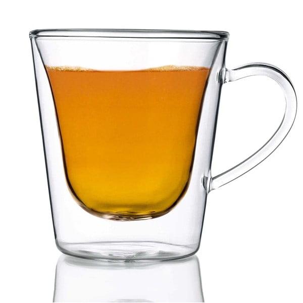 Sada 2 dvoustěnných sklenic Bredemeijer Coffee&Tea, 295ml