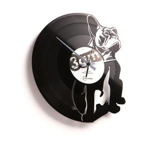Vinylové hodiny Hugo