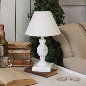 Stolní lampa White Antique Osso