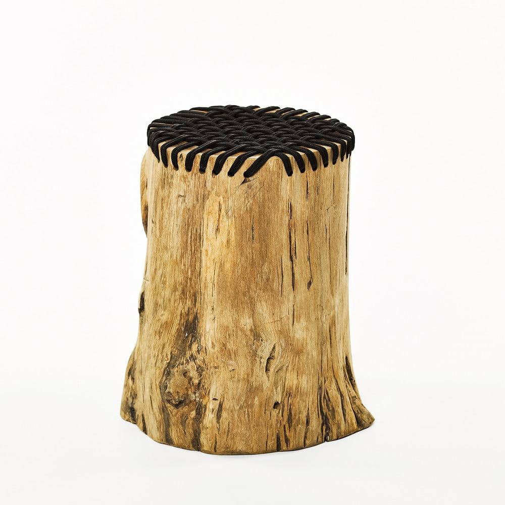 Stolička z teakového dřeva Simla Stump
