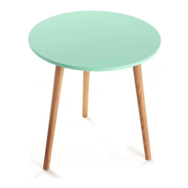 Odkládací stolek Auxiliary Turquoise, 50cm