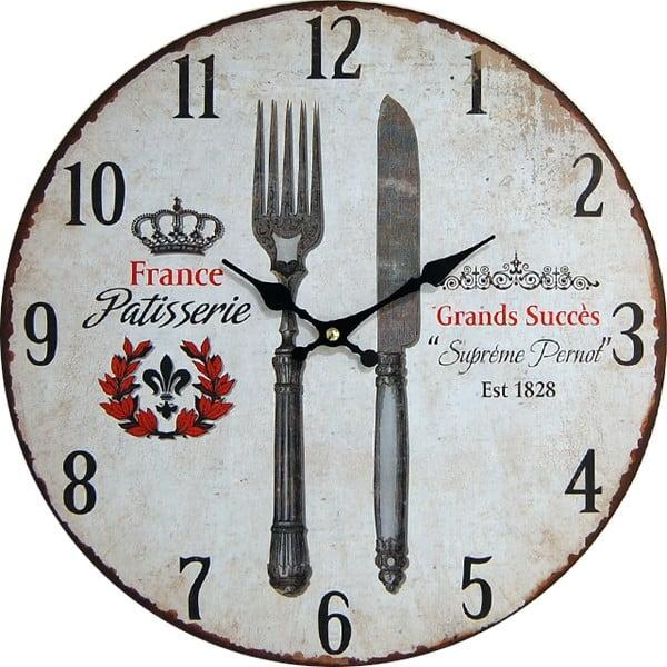 Nástěnné hodiny Patisserie