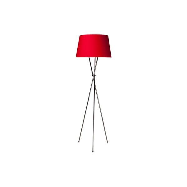 Tripod lampa Vintage Red