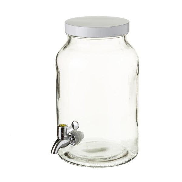 Szklany dzbanek z kranikiem Unimasa, 4,2 l