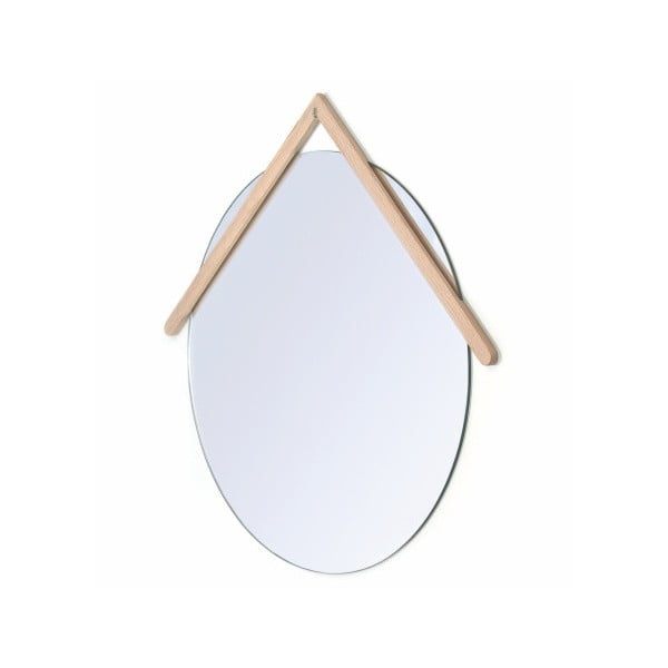 Nástěnné zrcadlo HARTÔ Lubin, Ø 40 cm