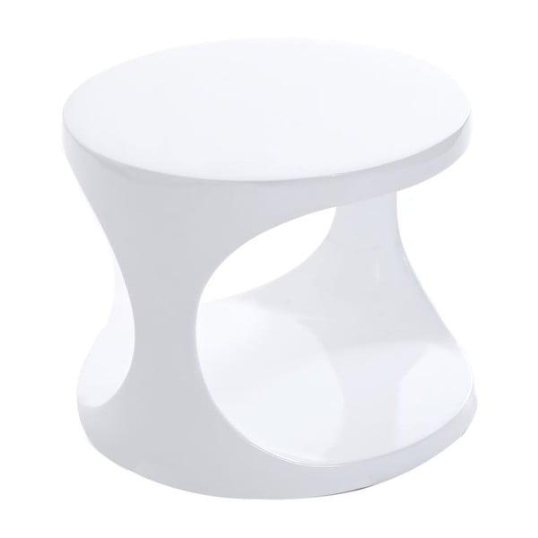 Stolek Mini Hole, bílý