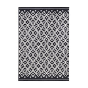 Šedočerný koberec Zala Living Draha, 200x290cm