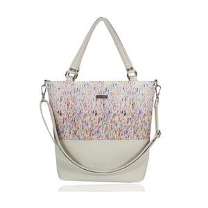 Růžovo-krémová kabelka Dara bags Lele No.163