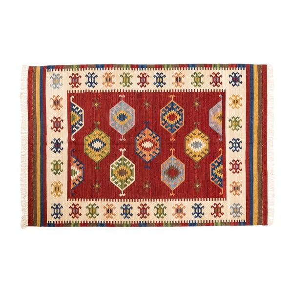 Ručně tkaný koberec Kilim Dalush 009, 90x60 cm