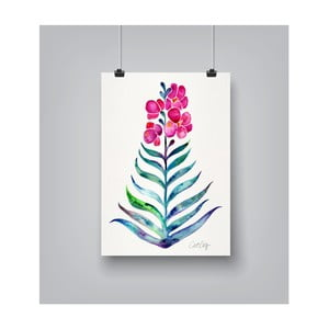 Plakát Americanflat Blooming Orchid, 30x42cm