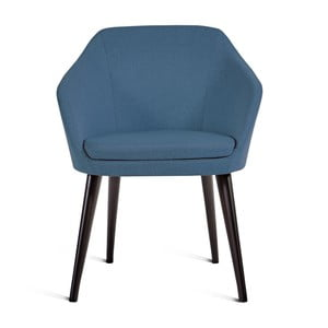 Modrá židle Charlie Pommier S