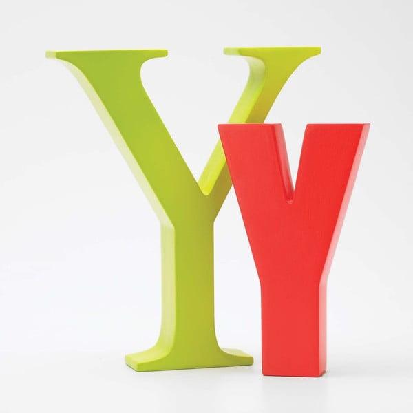 "Velké ""Y"" 17x14 cm, limetka"