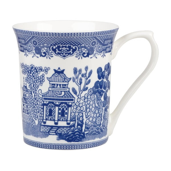 Kubek porcelanowy Churchill China Blue Willow, 220 ml
