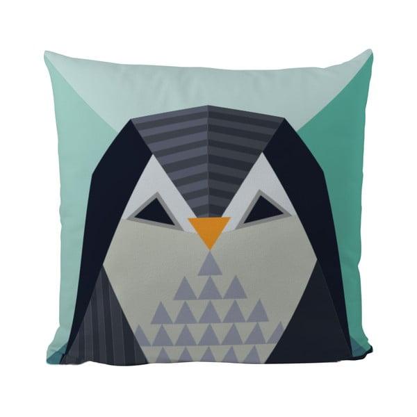 Polštář Geometric Penguin, 50x50 cm
