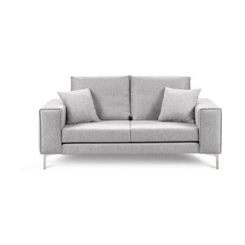 Canapea cu 2 locuri Cosmopolitan Design Cartagena gri deschis