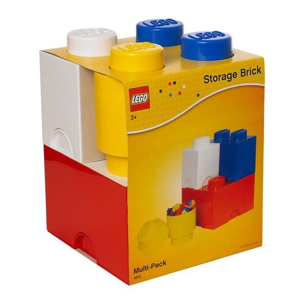 Sada 4 úložných boxů LEGO® Multi-Pack