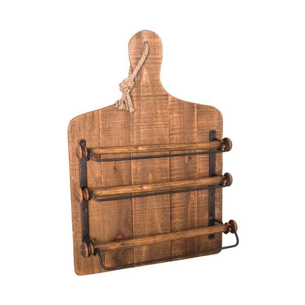 Nástěný držák na kuchyňské fólie z jedlového dřeva Antic Line