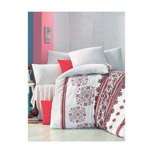 Lenjerie de pat cu cearșaf Mira, 200 x 220 cm