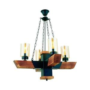 Závěsné svítidlo z habrového dřeva Kayra