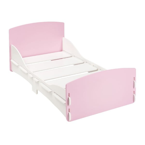 Dětská postel Pink Junior, 140x70 cm
