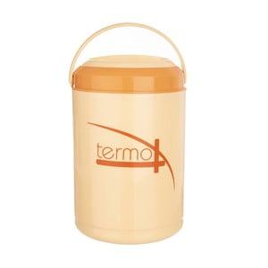 Oranžový jídlonosič se 4 patry Orion Termo