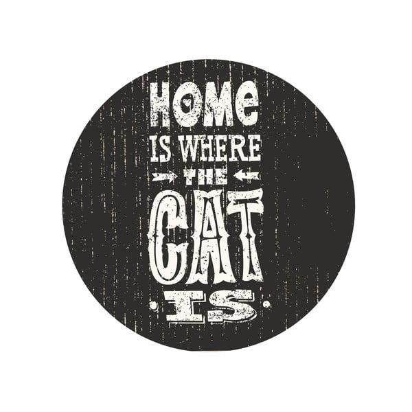 Sada 2 odkládacích stolků Home With Cat, 35 cm + 49 cm
